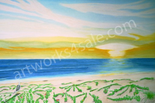 California-Sunset-Giclee-Art-Prints