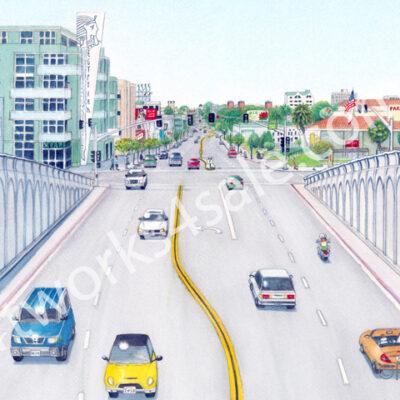 Hillcrest-San-Diego-Giclee-Art-Prints