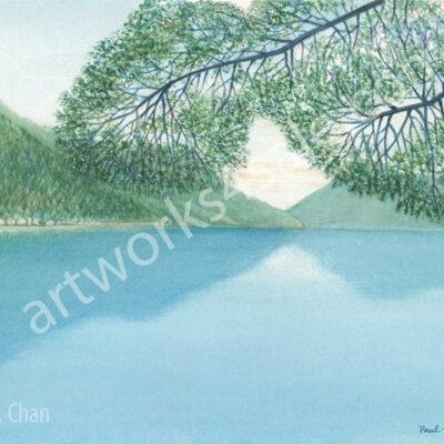 Lake-Crescent-Giclee-Art-Prints
