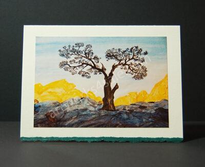 Tree-In-The-Desert-Art-Cards